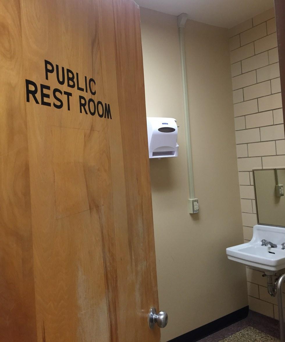 Community bathrooms