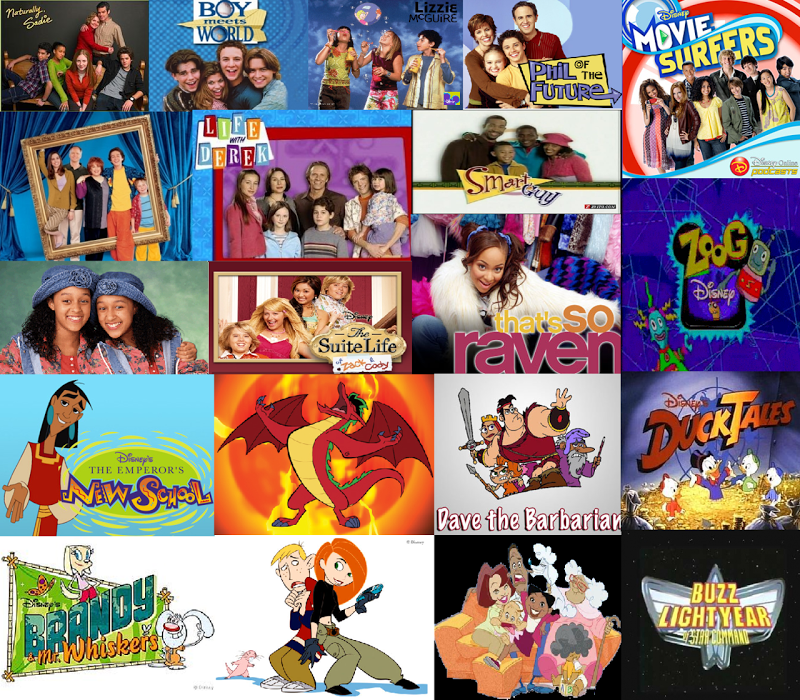 Disney xd shows 2000s