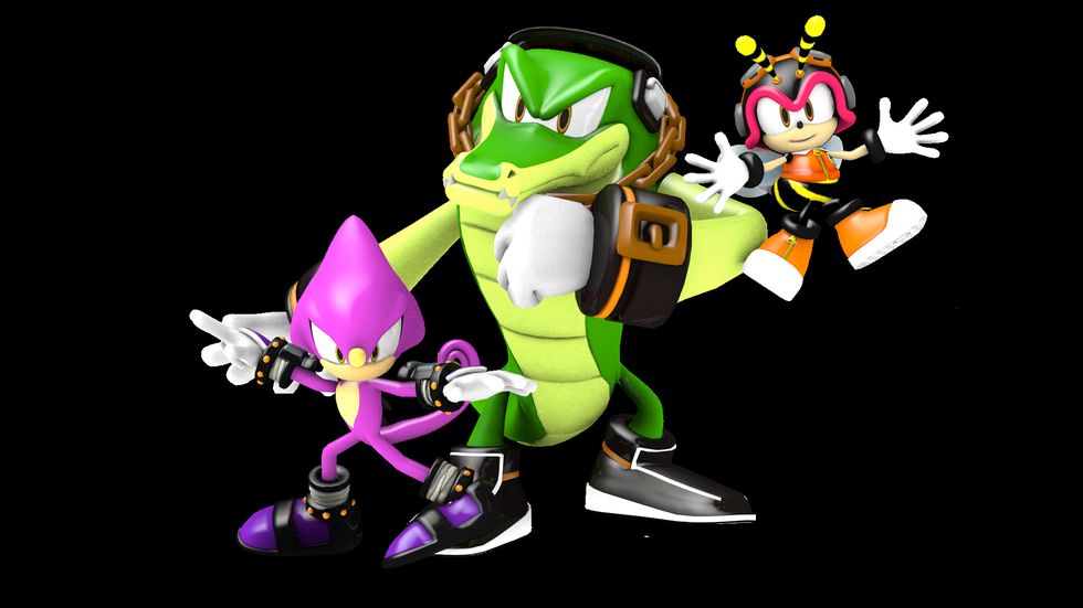 Vector the Crocodile  Sonic News Network  FANDOM powered