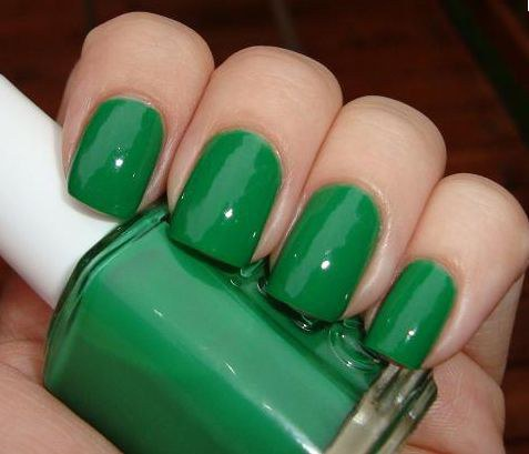 Essie nail polish green