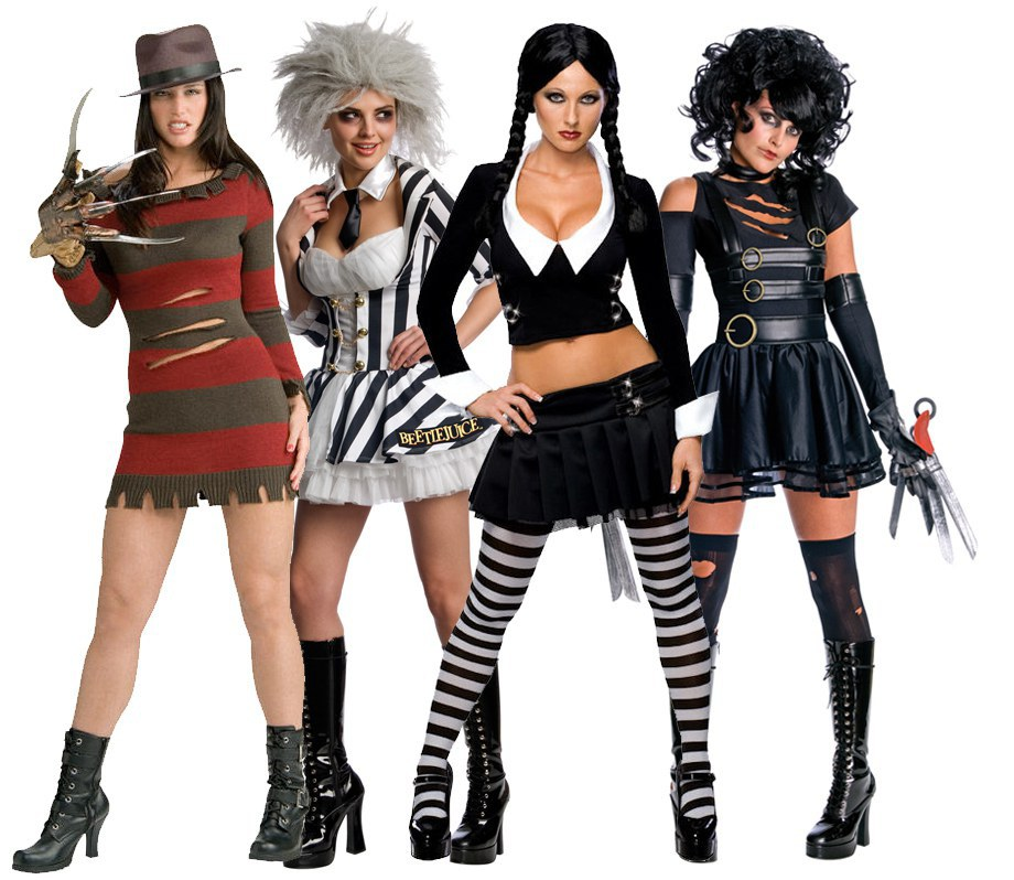 Costume movie characters