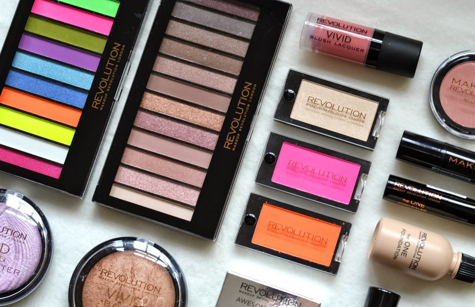 Top makeup brands
