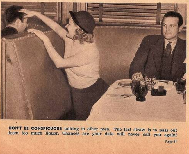 Old fashioned dating tips