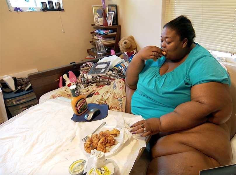 Black fat teen