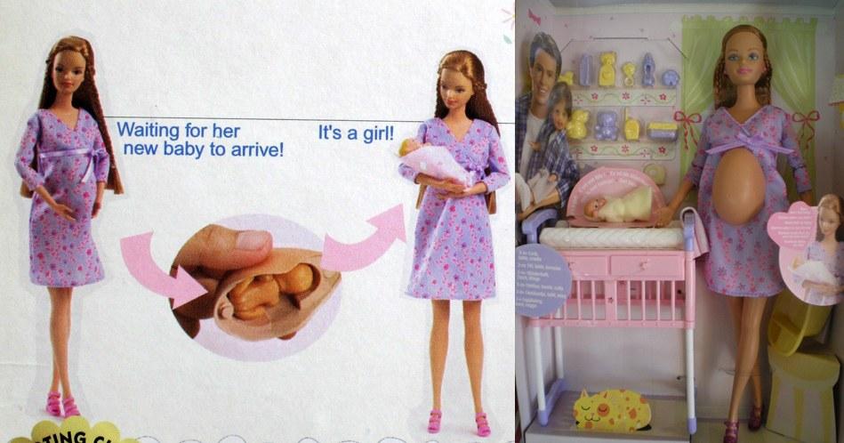 Все о беременной барби мидж
