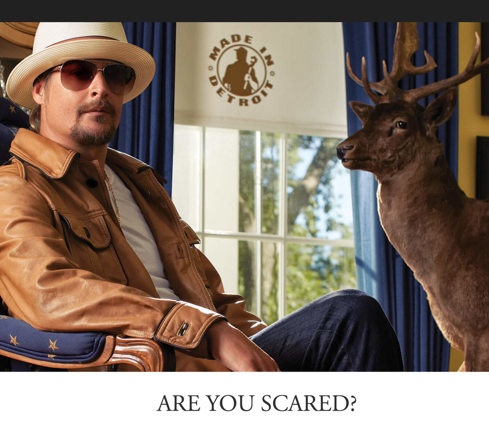 Kid Rock releases two new songs and music videos