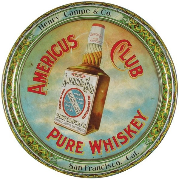 Americus Club Pure Whiskey