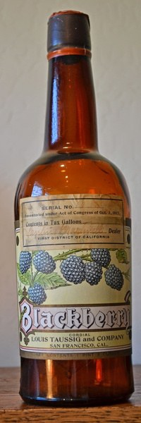Louis Taussig & Company Blackberry Cordial