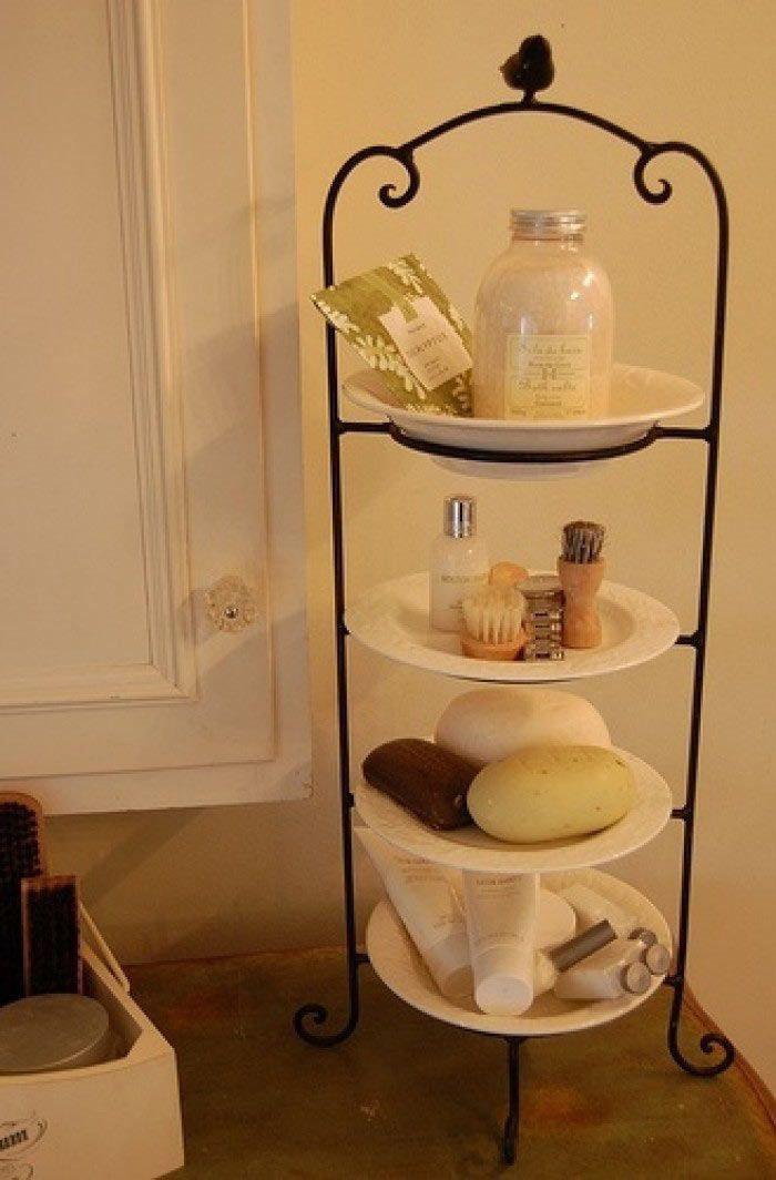 kleine badezimmer ganz gro tricks fr eine perfekte platznutzung - Badezimmer Etagere