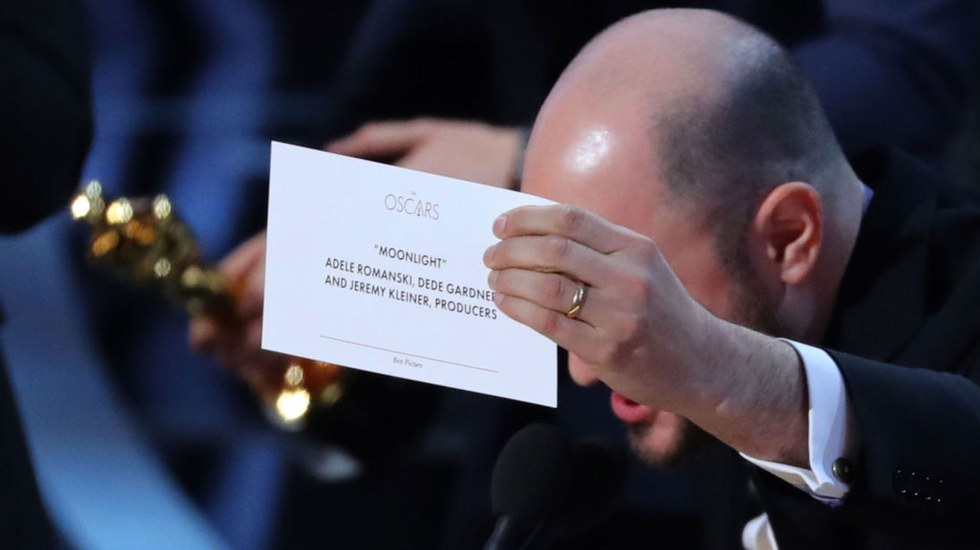2017 Academy Awards Best Picture - 2:26.84