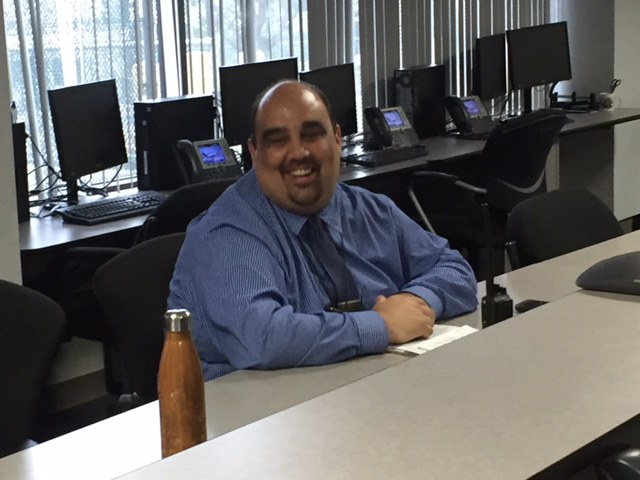 United Operations Supervisor Art Martinez