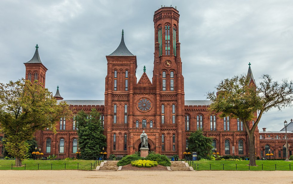 Smithsonian Arts & Industries Castle in D.C.