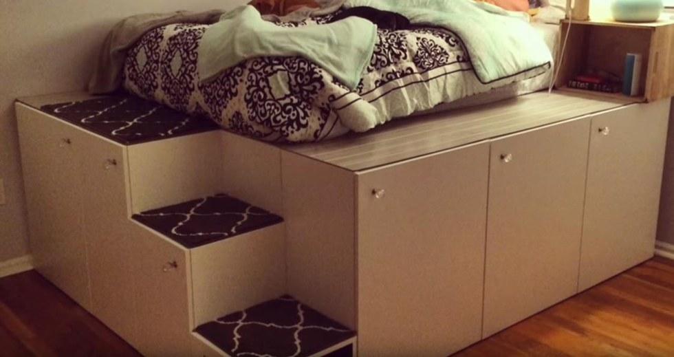 Der Ikea Hack Fur Das Grosste Kastenbett Mehr Stauraum Geht Nicht