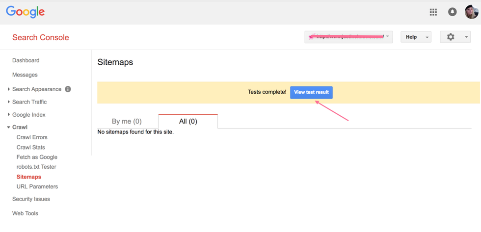 how to submit a sitemap in the google search console rebelmouse