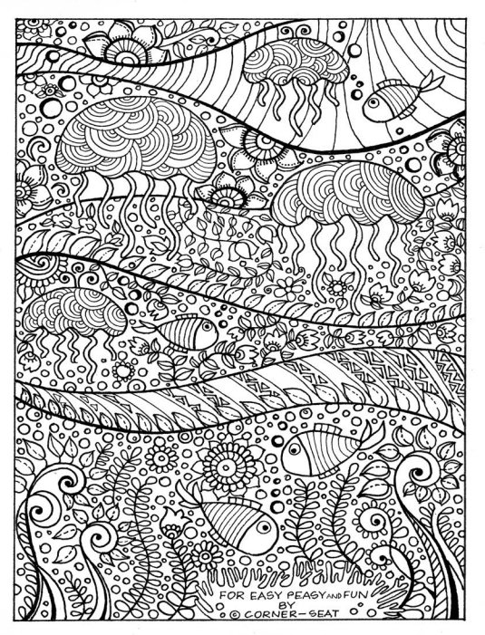 12 Printable Sea Worthy Coloring Pages For When Adults Need A