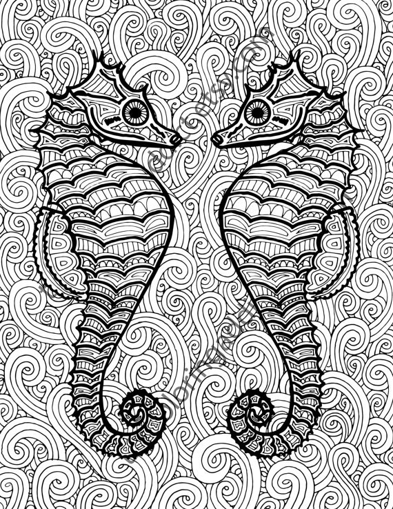 Ocean Coloring Pages For Adults 12 Printable Seaworthy Coloring Pages For When Adults Need A .