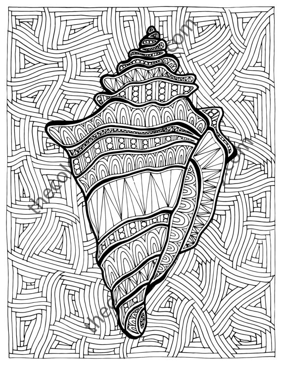 adult coloring pages ocean 12 Printable Sea worthy Coloring Pages For When Adults Need A  adult coloring pages ocean