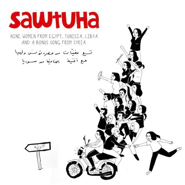 Nine Female Artists From Egypt Tunisia And Libya Record Sawtuha
