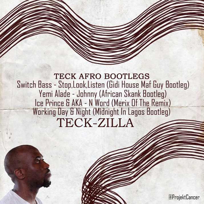 Teck-Zilla Releases Afro Funk Remixes Of Nigeria's Biggest