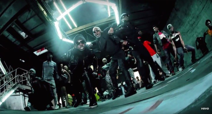 P-Square And Awilo Longomba Share The Underground Dance