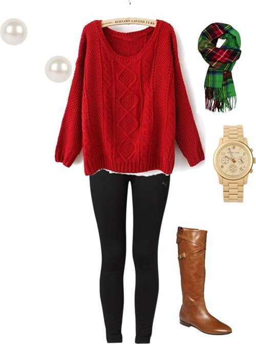 Five Outfits To Wear On Christmas Eve
