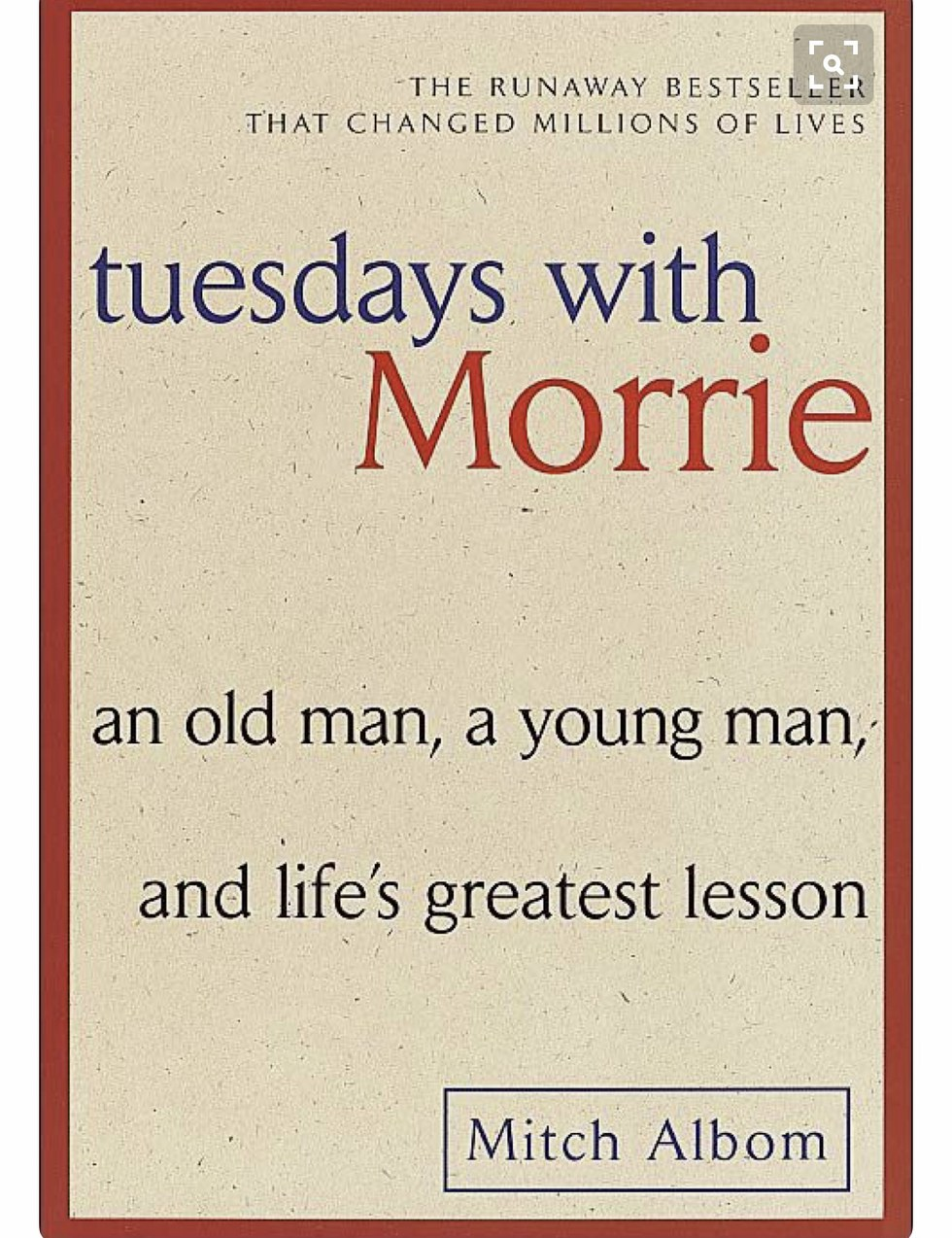 tuesdays with morrie review
