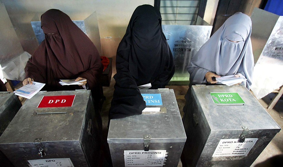 Image result for muslim women voting