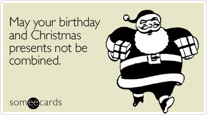 Christmas Birthday Image.The Pros And Cons Of A Christmastime Birthday