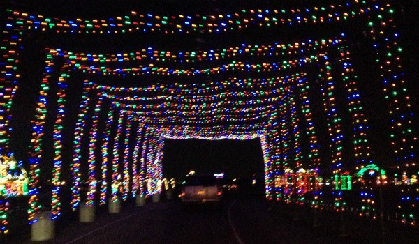 11 holiday must dos in charlotte north carolina for Charlotte motor speedway christmas lights nc