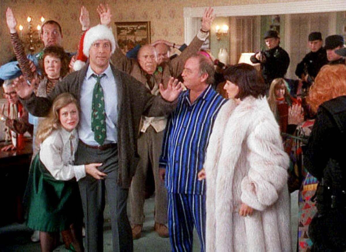 Christmas With The Griswolds.How The Griswolds Compare To Your Family During Christmas