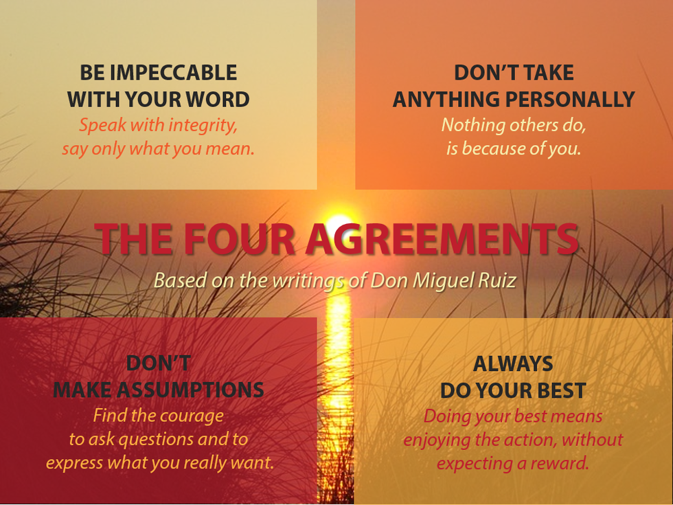 The Four Agreements To Live By