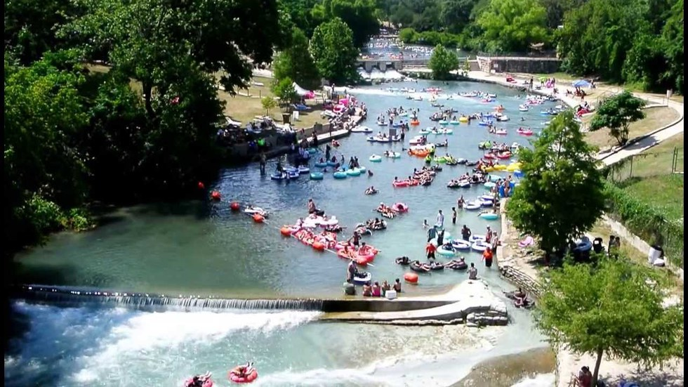Ten Places To Cool Off In Texas This Summer