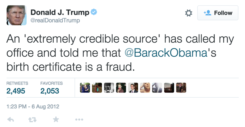 12 Ridiculous But Real Tweets By Donald Trump