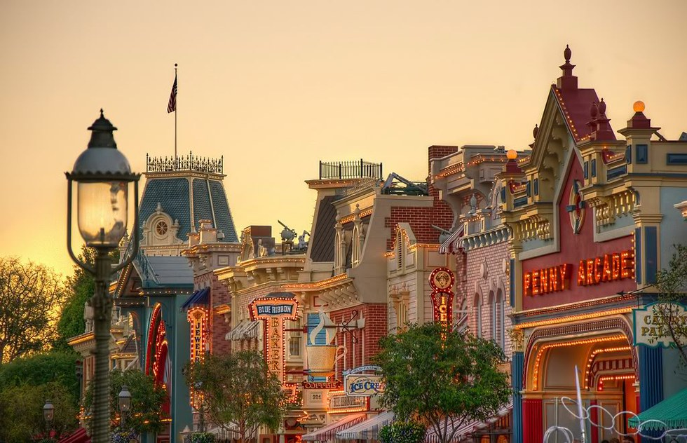 Disneyland's Main Street, U.S.A.: A History