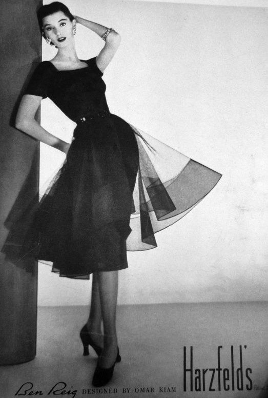 After The War Imagination And Talent Of Many Designers Went Back Into Little Black Dresses Glamorous Designs Came Play During 1950 S