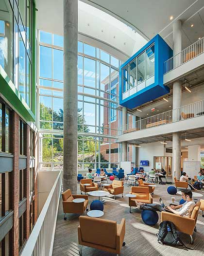 The Brody Learning Commons - Arts & Sciences Magazine