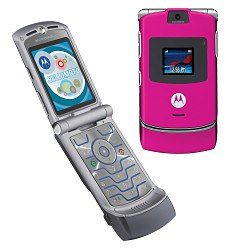 motorola razr 2004. the most cutting-edge gadget of our generation was definitely motorola razr. sold in black, silver and pink, this phone won hearts many pre-teens razr 2004