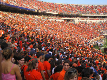 8 Types Of People You Would See At A Uva Football Game