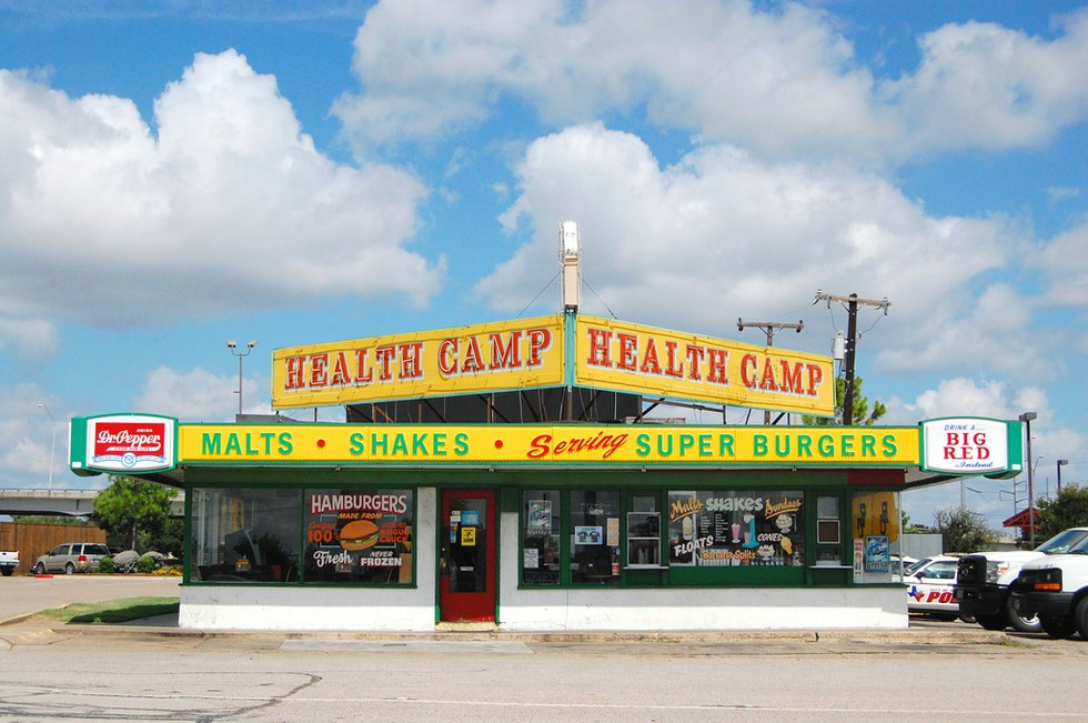 An Old Waco Favorite Health Camp Is Worth The Cheat Day If You Re Looking To Splurge On Calories Go In For A Burger And Shake Won T Leave