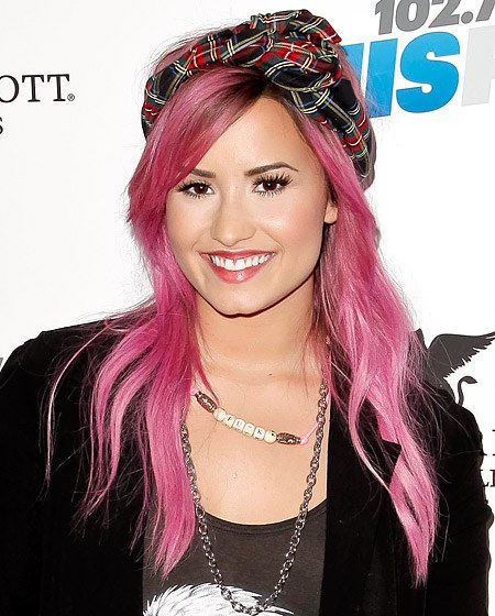 Black To Pink Ombre Hair Color