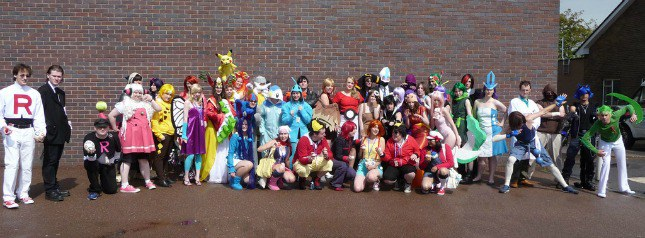 All the Pokémon. & 24 Best Halloween Costumes For Big Groups