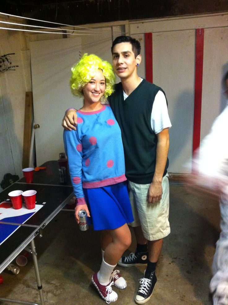 16 Nickelodeon Halloween Costumes Only '90s Kids Will ... Quailman And Patty Mayonnaise Costume