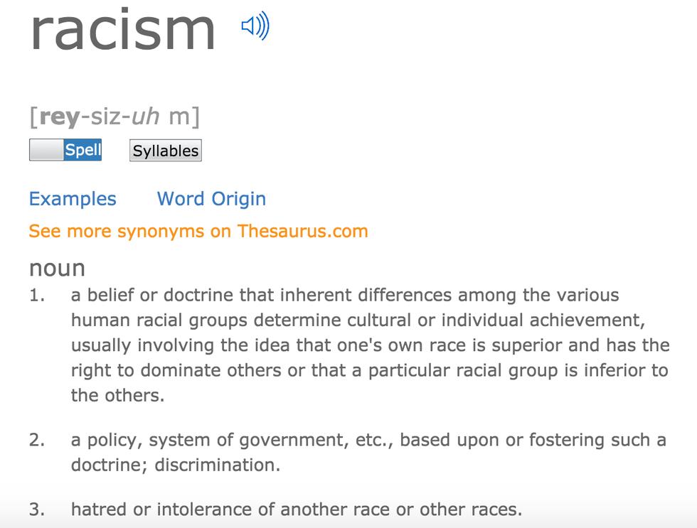 Racism Is Racism