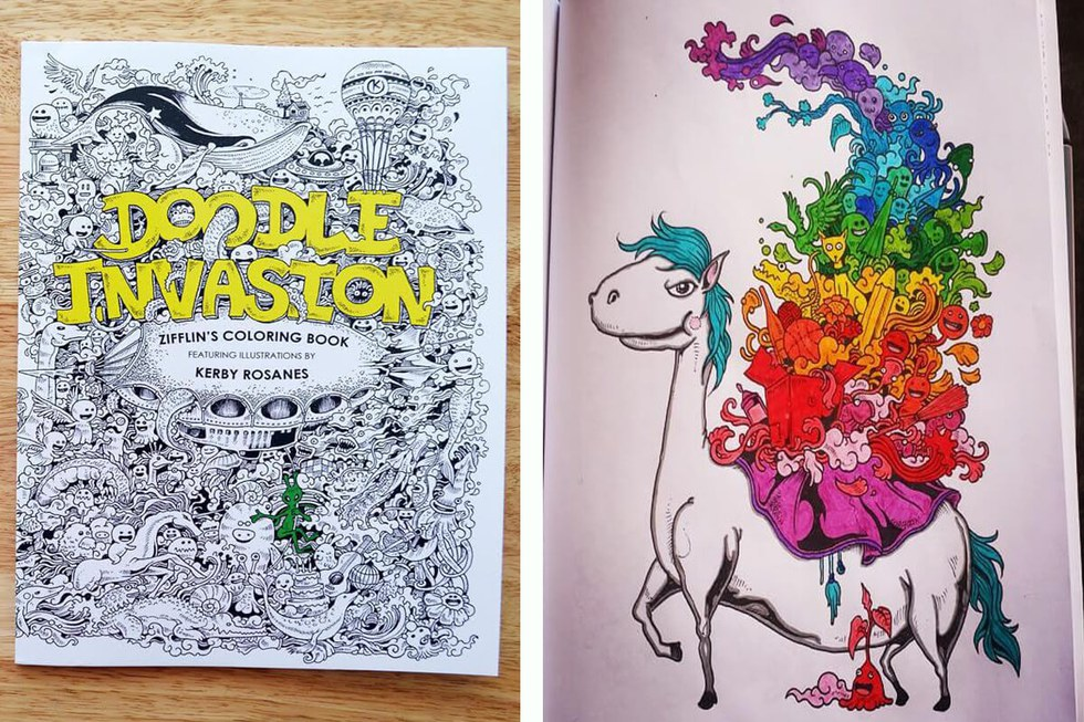 Whether You Love To Doodle Or Color This Out Of World Coloring Book Will Allow Your Imagination Wander As Explore The Mysteriously Cute