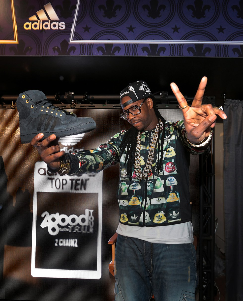 best authentic ee5d0 46685 2 Chainz deal with Adidas resulted in the beautiful high-top shoes  pictured above. The