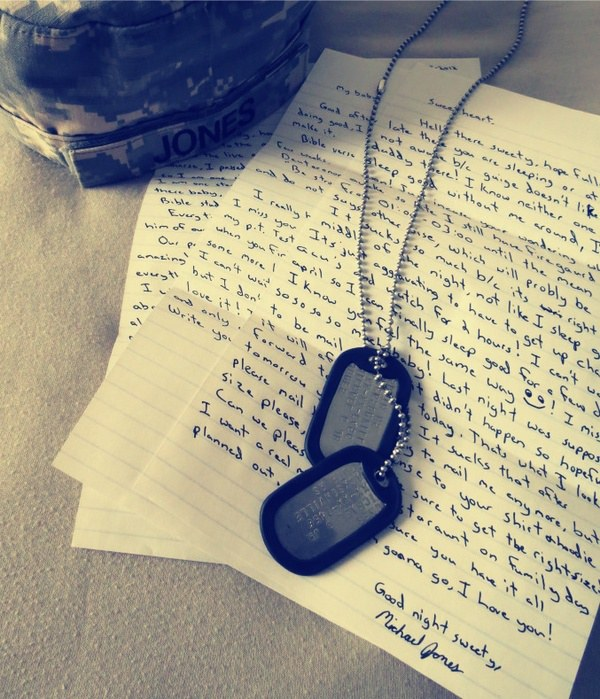 12 things to expect while your boyfriend is at boot camp you will learn to love writing letters spiritdancerdesigns Image collections