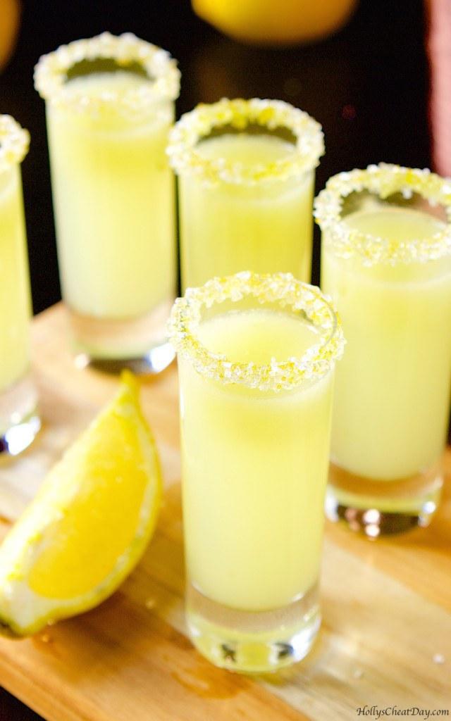 Lemon Vodka Cake