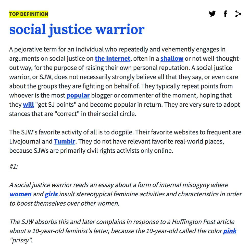 social justice warriors are ruining social media
