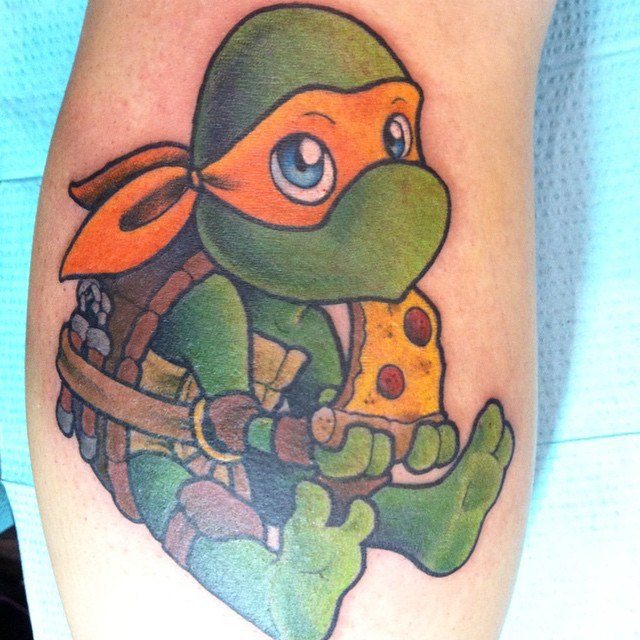 15 Signs You Need A Pizza Tattoo