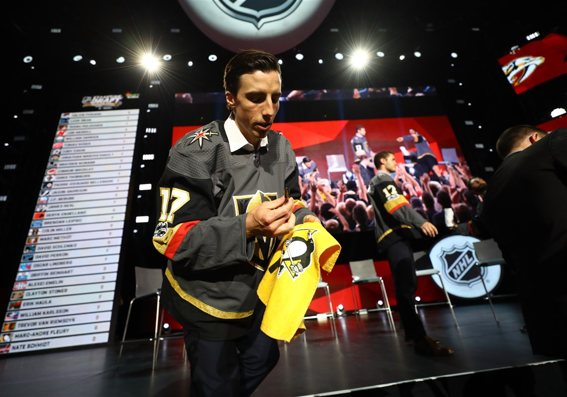 save off 2e8ac 07b81 To Marc-Andre Fleury As He Departs For The Vegas Golden Knights